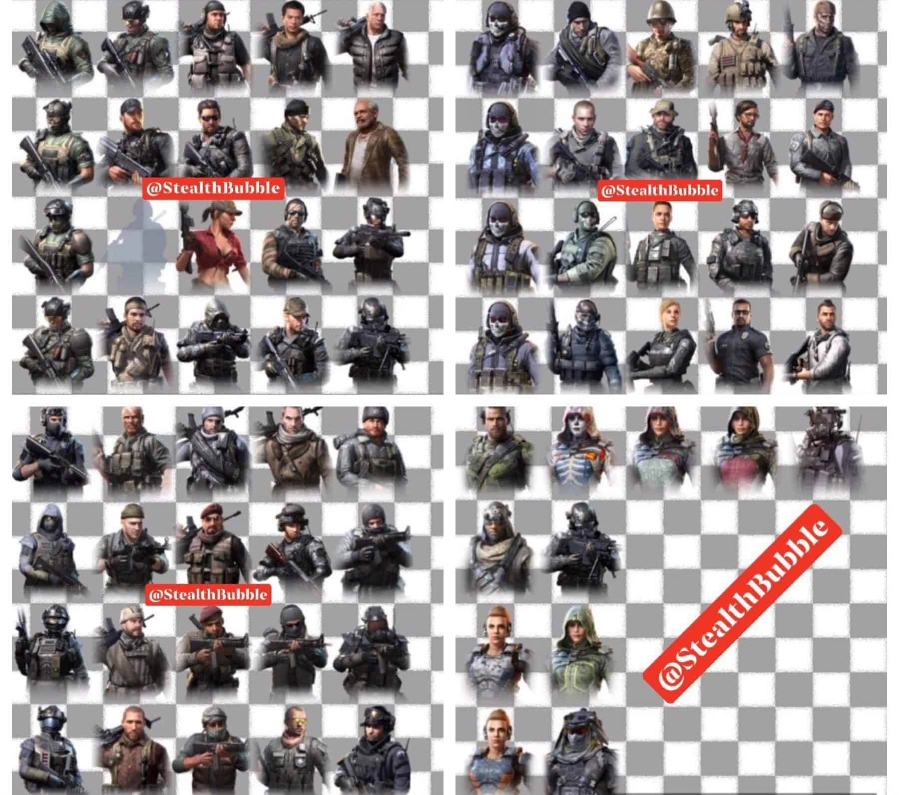 Call Of Duty Mobile All Characters Tactics For Winners